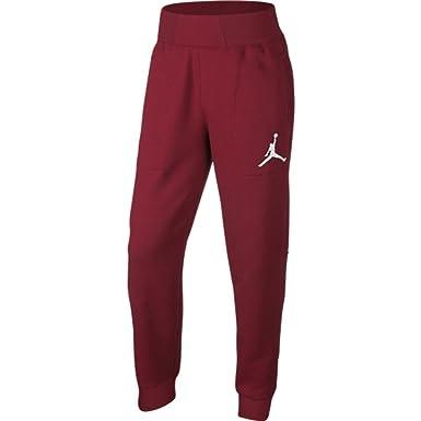 f67f90cf2e881d Men s Jordan Gym Red Black White Air Jordan Varsity Fleece Sweatpants ...