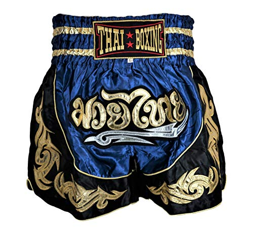 Thai-Kick Muay Thai Shorts Kickboxing Thai Boxing Martial Arts Training Workout