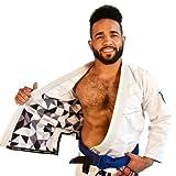 Martial Arts Brooklyn Kimono White for BJJ, Pearl Weave Jiu Jitsu Gi - MMA Uniform, Adult or Youth Sports Gear, For Brazilian Jiu-jitsu, Grappling, and Mixed Martial Arts - Kimono and Pants review