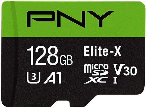 Pny Elite X 128 Gb Microsdxc Speicherkarte Mit Computer Zubehör