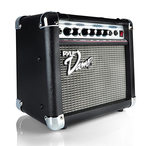 30 Watt Bass Amplifier - Pyle-Pro PVAMP30 30-Watt Vamp-Series Amplifier With 3-Band EQ and Overdrive