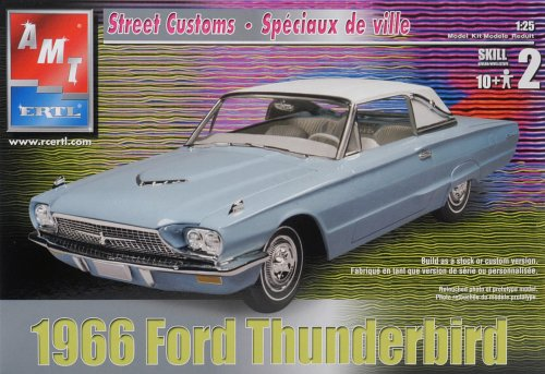 AMT 1966 Ford Thunderbird Plastic Model  - Ford Thunderbird Model Kit Shopping Results