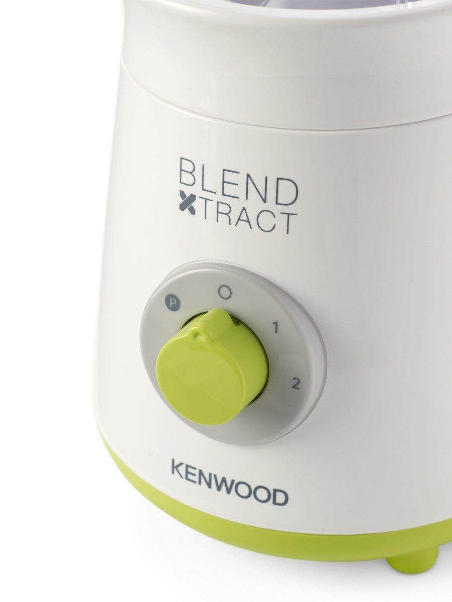 2 Velocidades 0.5 litros Kenwood Smoothie 2 Go-SB055WG Batidora de Vaso Acero Inoxidable Blanco//Verde 300 W