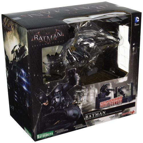 [Kotobukiya DC Comics Arkham Knight Batman Video Game ArtFX+ Action Figure] (Batman Arkham Knight Catwoman Costume)