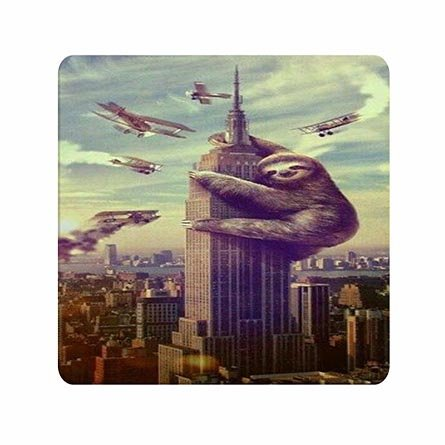Super Pad Mouse Hot (Fantastic Custom Hot Sloth Print Super Lightweight Mousepads For Women)