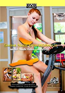 Nude Gym Workout featuring Sasha Christine Claire and Jayden - a Nude-Art Film