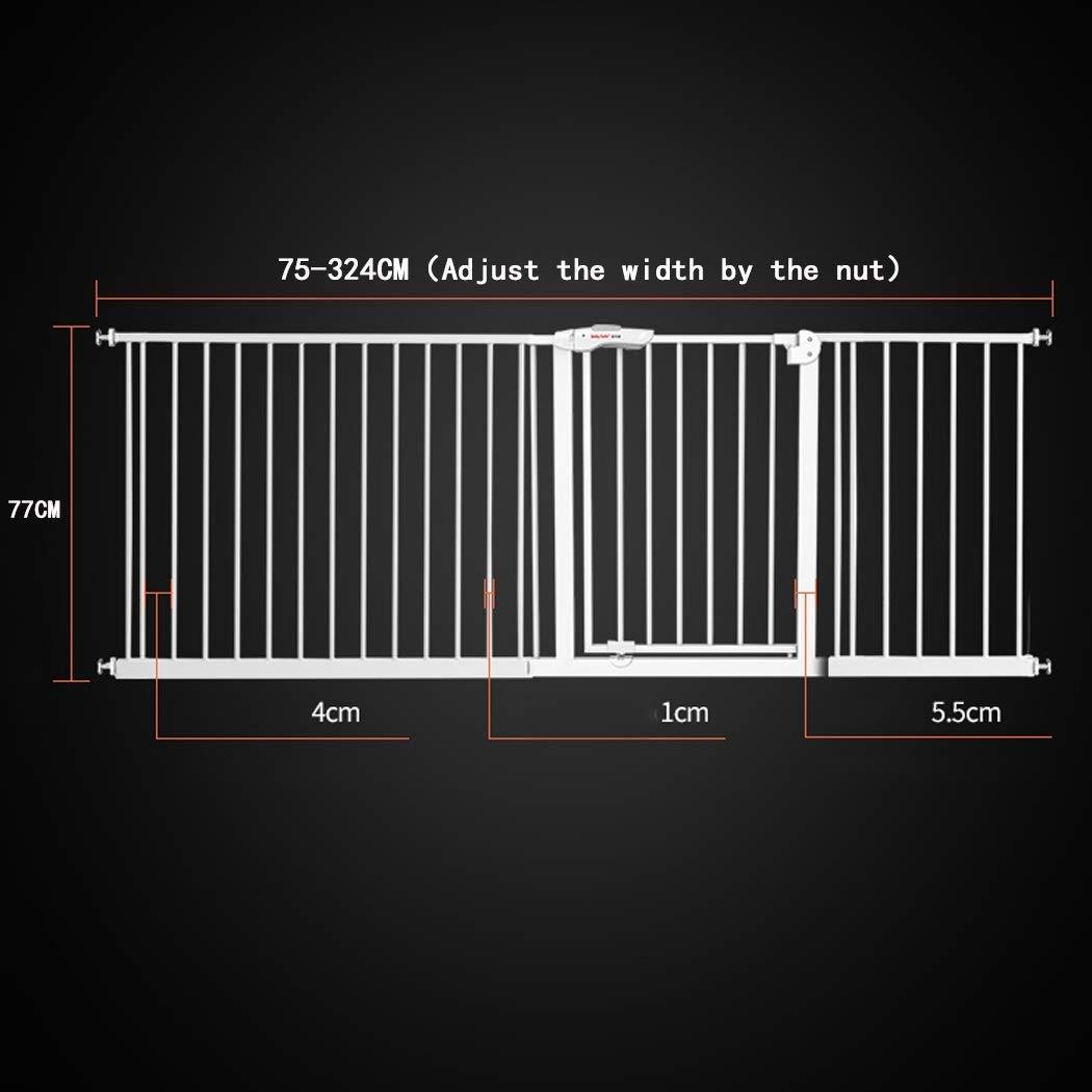 valla de bar para mascotas puerta de aislamiento valla de perforaci/ón libre valla de escalera para ni/ños valla de barandilla,Bl puerta de seguridad para ni/ños MOM Puerta de corral para mascotas
