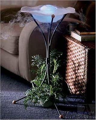 Mist Maker Floor Water Fountain 12 Light Air Purifier Lamp