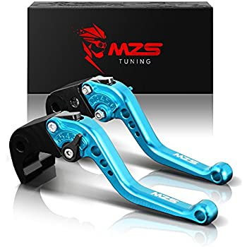 Amazon com: MZS Short Brake Clutch Levers for Honda CB400