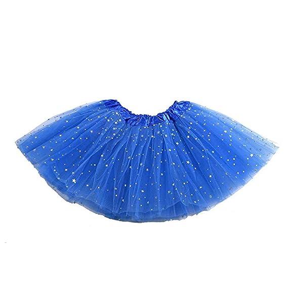 AAGOOD Moda lentejuelas enagua Crinolinas tutú de ballet de la ...