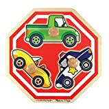 Melissa & Doug Stop Sign (Vehicles) Jumbo Knob Puzzle