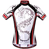 CZUP Men's Summer Outdoor Cycling Lightweight Top Bicycle Riding Breathable Short-Sleeve Jersey