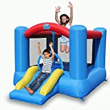 ACTION AIR Bounce House, Air Bouncer, Inflatable Bouncer with Air Blower, Jumping Castle