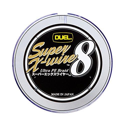 デュエル(DUEL) PEライン スーパーエックスワイヤー8 200m 1.0号 10m×5色 ホワイトマーキング H3608の商品画像