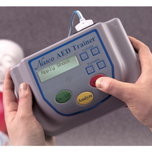 Nasco AED Universal Automated External Defibrillator Trainer LF03740U by Nasco