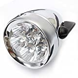 Vintage Retro Bicycle Bike Front Light Lamp 7 LED