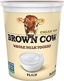 top cream - Brown Cow Cream Top Plain Yogurt, 32 Ounce (Pack of 6)
