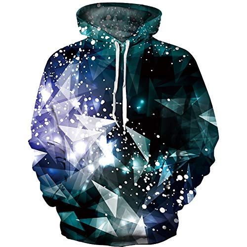 (OYABEAUTY Boys' Teen 3D Print Graphic Sweatshirts Long Sleeve Pullover Hoodies with Pocket(XX-Large(11-14 Years/145-155cm),Geo B))
