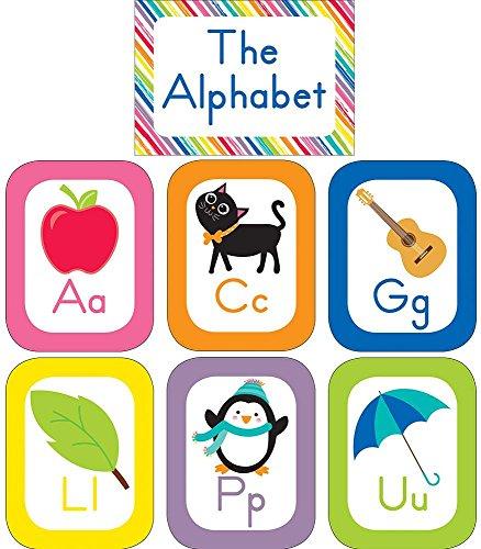 Just Teach Alphabet Cards, Schoolgirl Style