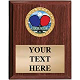 Pickleball Plaques - 5x7 Customized Pickleball Games Trophy Plaque