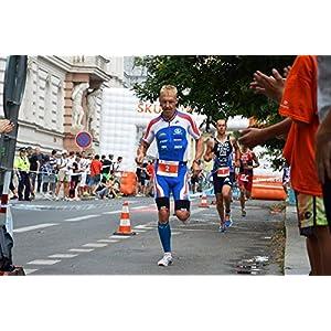 Bib Race Number Gel Belt With 6 Gel Loops - Running Race Belt with Number Holder - Great For Marathon - Halfmarathon and Triathlons