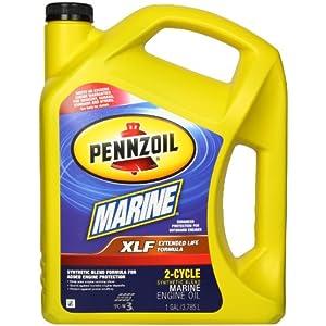 Pennzoil 550022771 XLF Marine Synthetic Blend Engine Oil (TC-W3) - 1 Gallon