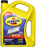 Pennzoil 550022771 XLF Marine Synthetic Blend Engine Oil (TC-W3) - 1 Gallon