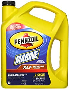 amazoncom pennzoil  xlf marine synthetic blend engine oil tc   gallon automotive
