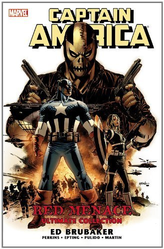Read Online Captain America, Vol. 2: Red Menace Ultimate Collection 1st (first) edition by Brubaker, Ed published by Marvel (2011) [Paperback] pdf epub