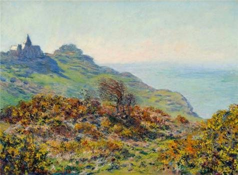 Oil Painting 'The Church At Varengeville, The Gorge Of Les Moutiers, 1882 By Claude Monet' 20 x 27 inch / 51 x 69 cm , on High Definition HD canvas prints, Home Office, Home Theater, Study Roo decor (Monster Energy Comforter compare prices)