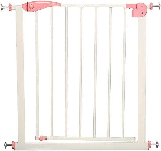 LIZIWL Barreras para Puertas y escaleras Seguridad Puerta Corte Libre Escalera Valla 76cm Alto Usado for aislar bebé Animales (Size : 57-64cm): Amazon.es: Hogar