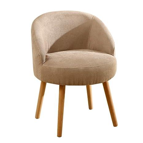 Amazon.com: Cómoda silla Nordic de madera maciza para el ...