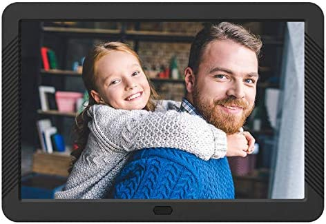 Atatat Digital Photo Frame with 1920×1080 IPS Screen, Digital Picture Frame Support Adjustable Brightness,Photo Deletion,1080P Video,Music,Slideshow,Remote,16 9 Widescreen,Support SD Card,USB 8 Inch
