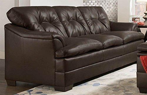 Simmons Upholstery Apollo Sofa, Espresso
