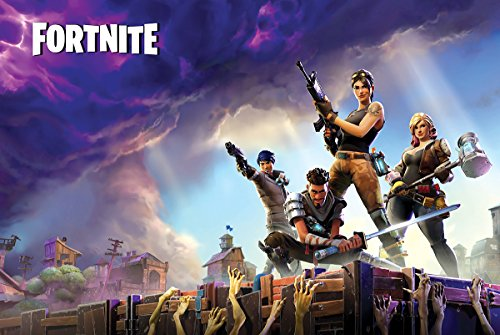 Poster Fortnite Game 24x36 inches Standard Size  PS4 Xbox
