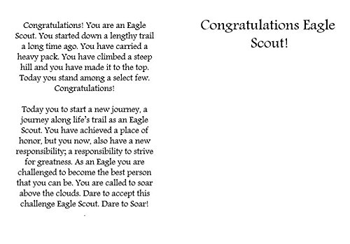 Eagle Scout Congratulations Card: Pack of 6 (3 Designs) Photo #6
