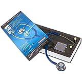 Gima 32536 Stetoscopio duofono Classic, Lira Blu