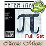 Classic Music Thomastik Peter Infeld (PI101)Violin Strings Full Set 4/4 Ball End