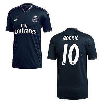 a33b09b9046 adidas REAL Madrid Trikot Away Kinder 2019 - Modric 10  Amazon.de ...