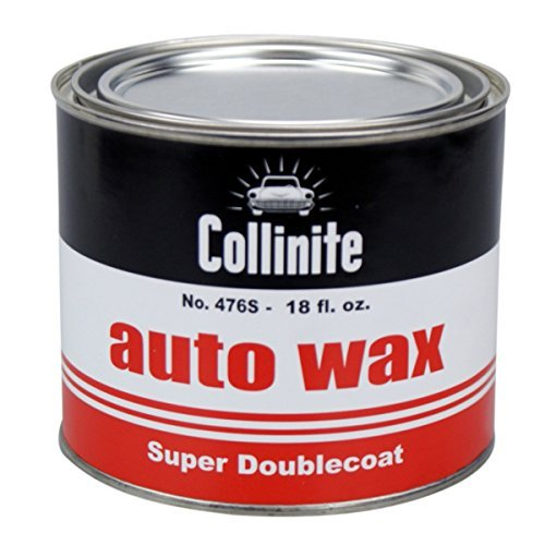 Collinite Collonite 47618 No. 476s Super Doublecoat Auto Wax-18 oz