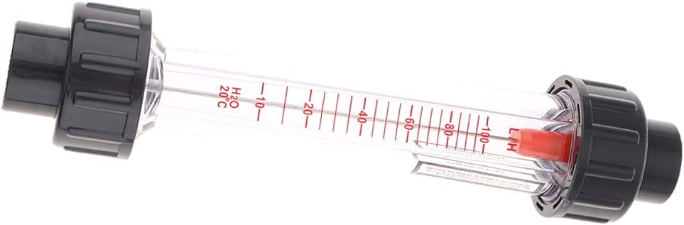 H Hochgenauer Wasserdurchflussmesser Wasserdurchflussmesser ABS-Kunststoffrohr-Durchflussmesser 40-400L