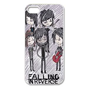 Falling In Reverse iPhone Case for iphone 5/5s, Well-designed TPU iphone 5s Case, iphone accessories