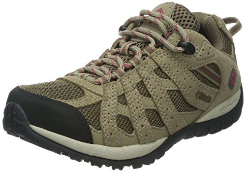 Columbia Women's Redmond Waterproof Trail Shoe Saddle/Red Orchid clearance 2015 latest cheap online outlet footlocker finishline hAQXTR