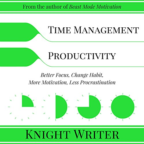 Time Management & Productivity: Better Focus, Change Habit, More Motivation, Less Procrastination by Knight Writer