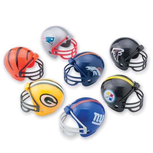 SmileMakers 32 NFL Mini Football Helmets ()