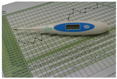 Geon/Home Health Centigrade Digital Ovulation Basal Thermometer Plus Free Fertility Chart - more accurate - 2 decimal places.