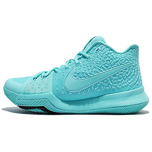NIKE Men's Kyrie 3 EP, Aqua/Aqua-Black, 9 M US