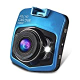 Camecho® Mini GT300 A8 Car DVR Camera full HD 1080p Recorder Video Registrator Night Vision Box Carcam (blue)