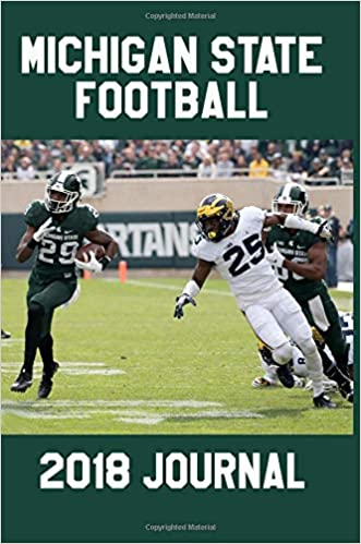 Michigan State Football 2018 Journal Notebook Diary College Ruled