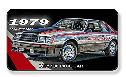 BrotherhoodProducts 1979 Ford Mustang Indy 500 Pace Car Magnet-Package of Two ()